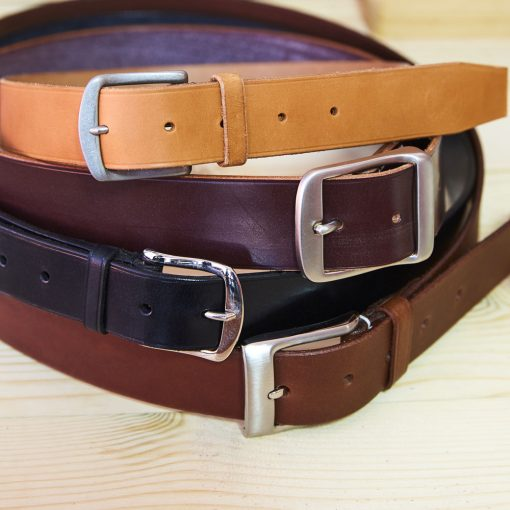 Selection of English Bridle Leather Belts