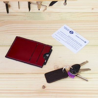 Leather Card Slip Case