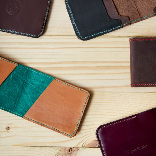 Leather Wallet for Oyster Card