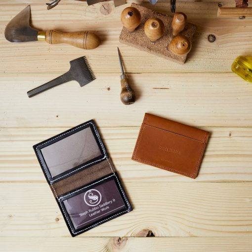 Leather ID Card Wallet