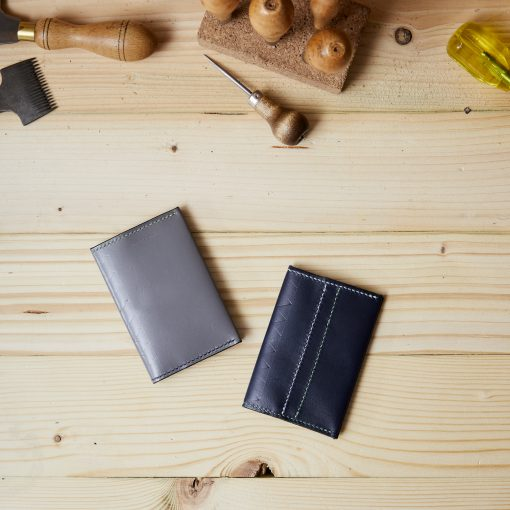 Leather Card Wallet Folder