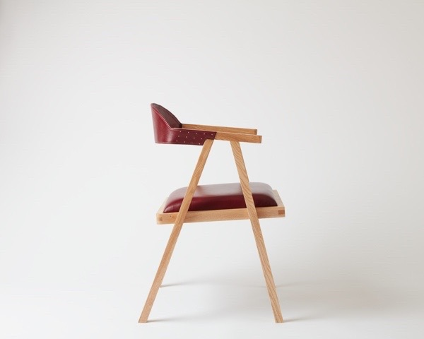 Essentially Wood Sling Back Chairs