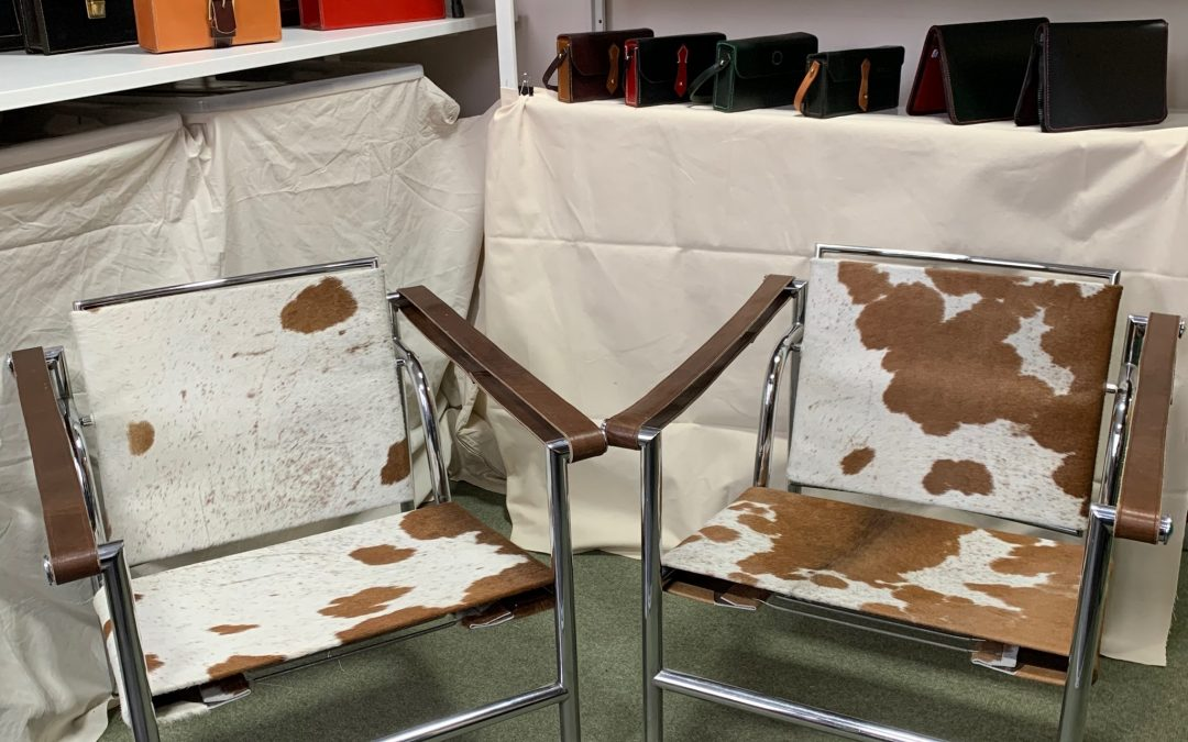Pair of le Corbusier chairs